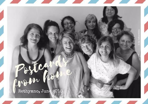 (English) Postcards from home_Rethymno 2018 – Photography workshop with Photini Papahatzi & Lia Nalbantidou